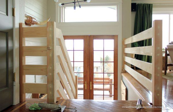 Best Horizontal Railing Installation Diy Diy Stair Railing 400 x 300
