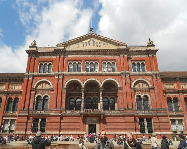 The V & A Museum - one of my all-time favourite places in the world. Have lost myself for hours in this building...