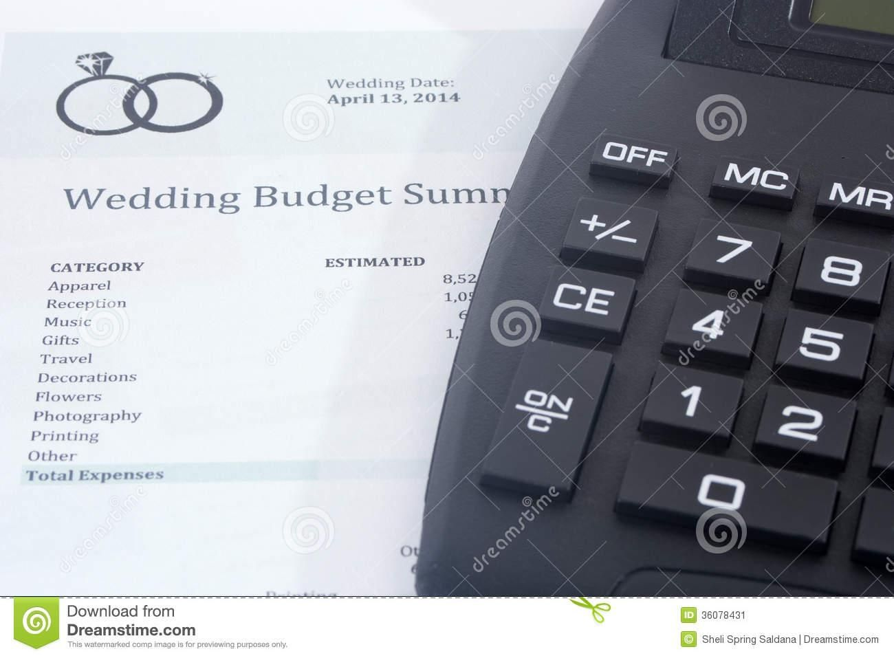 Wedding Budget Planner In With Images
