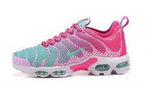 385579c1bc8 Womens Nike Air Max Plus TN Ultra Pink Blue White 881560 438 Running Shoes
