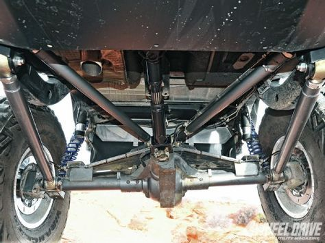 Genright Four Link Rear Suspension Jeep Tj Jeep Offroad Jeep