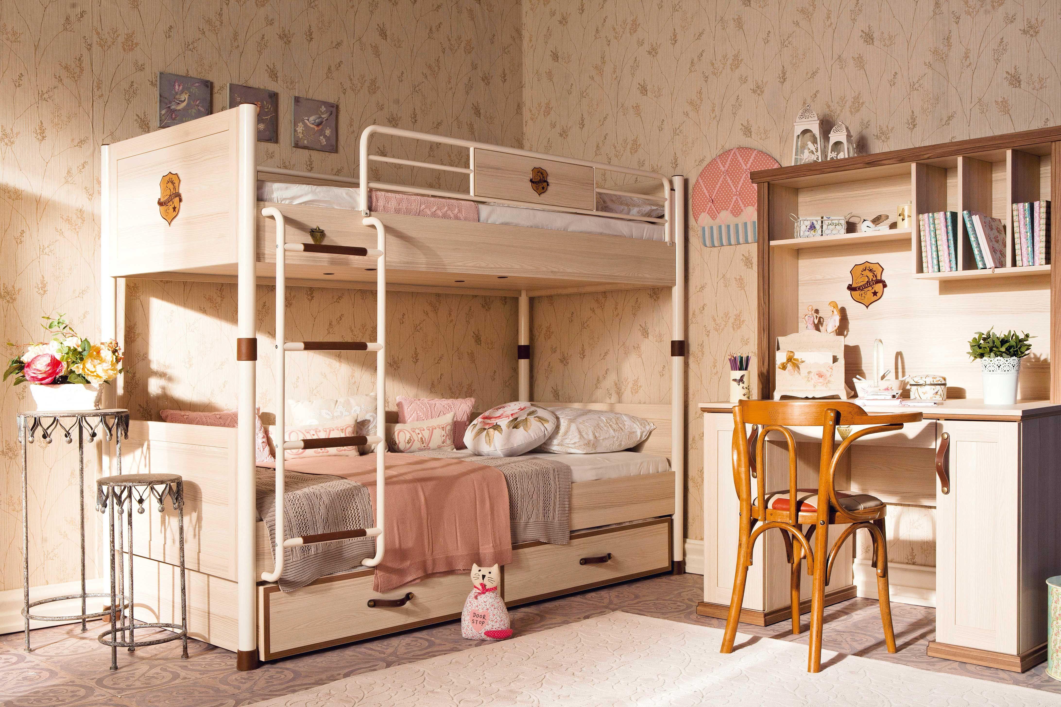 Etagenbett Mit Ausziehbett : Cilek royal etagenbett 90x200 cm möbel kinderzimmer amilando