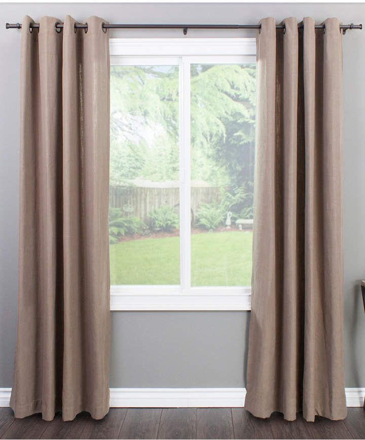 Sheffield Home Amg And Enchante Accessories Honey Mosaic Curtain