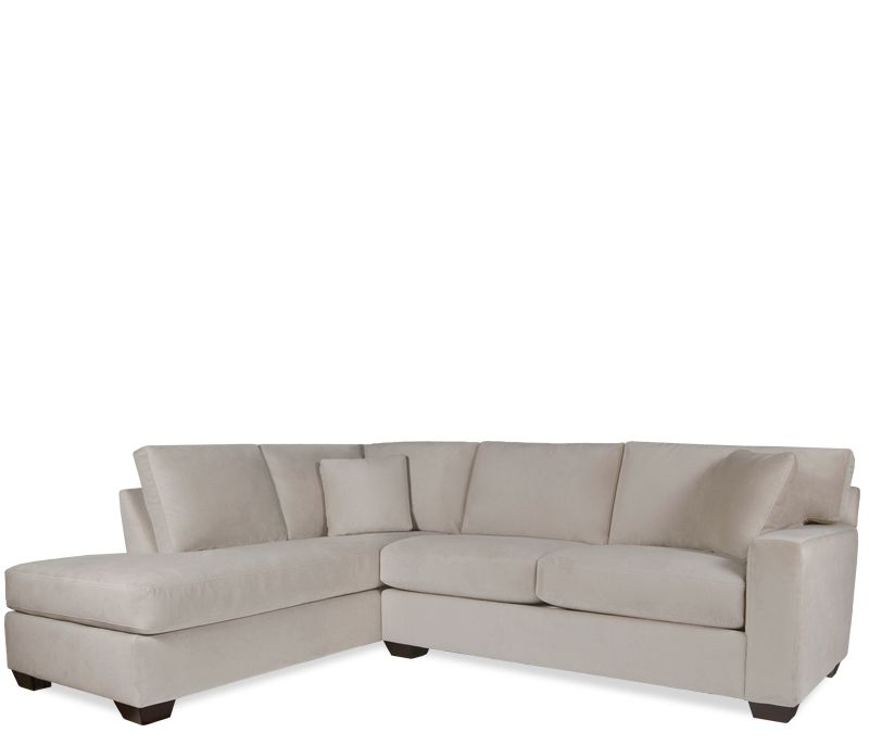 Boston Interiors Milan 2 Pc Sectional W/Daybed   This Item May Be Custom