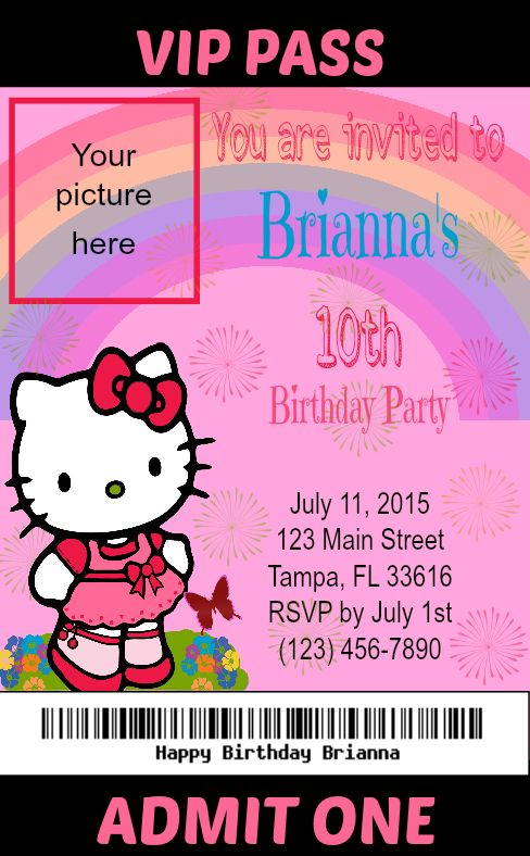 Vip access passes for guests kids birthday parties diy VIP ticket – Vip Ticket Invitations