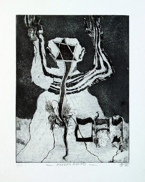 JAN KOBLASA - GRAFIKA 4 - Art Gallery, Svetlana & Lubos Jelinek