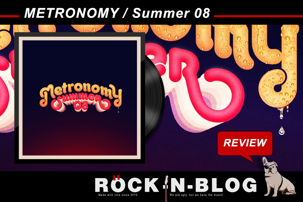 """ROCK-N-BLOG - Review: METRONOMY / Summer 08 http://nixschwimmer.blogspot.com/2016/07/metronomy-summer-08.html (...) Im Rückblick ist immer alles besser und deswegen klingt """"Summer 08"""", welches als Pendant des 2008er Album """"Nights Out"""" gedacht ist, deutlich besser gelaunt und weniger verkrampft, man könnte auch sagen leichtfüßiger. Aber so ist das, wenn man reifer wird:  Neben den Pickeln verschwindet auch die Verkrampfung ;-). (...)"""