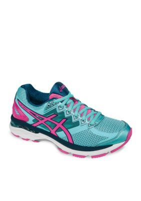 ASICS TurquoisePink Womens GT-2000 4 Running Shoes