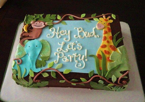 Jungle Cake by hobbycakesbyjan, via Flickr