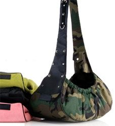 These dog sling carriers collection by Creature Couture come in four great  colors  avocado c0ff015ad568