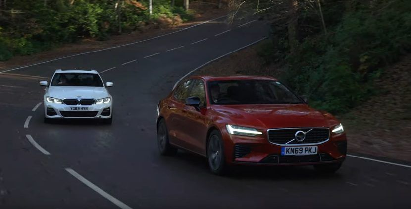 Video: BMW 330e gets compared to Volvo S60 T8 once again