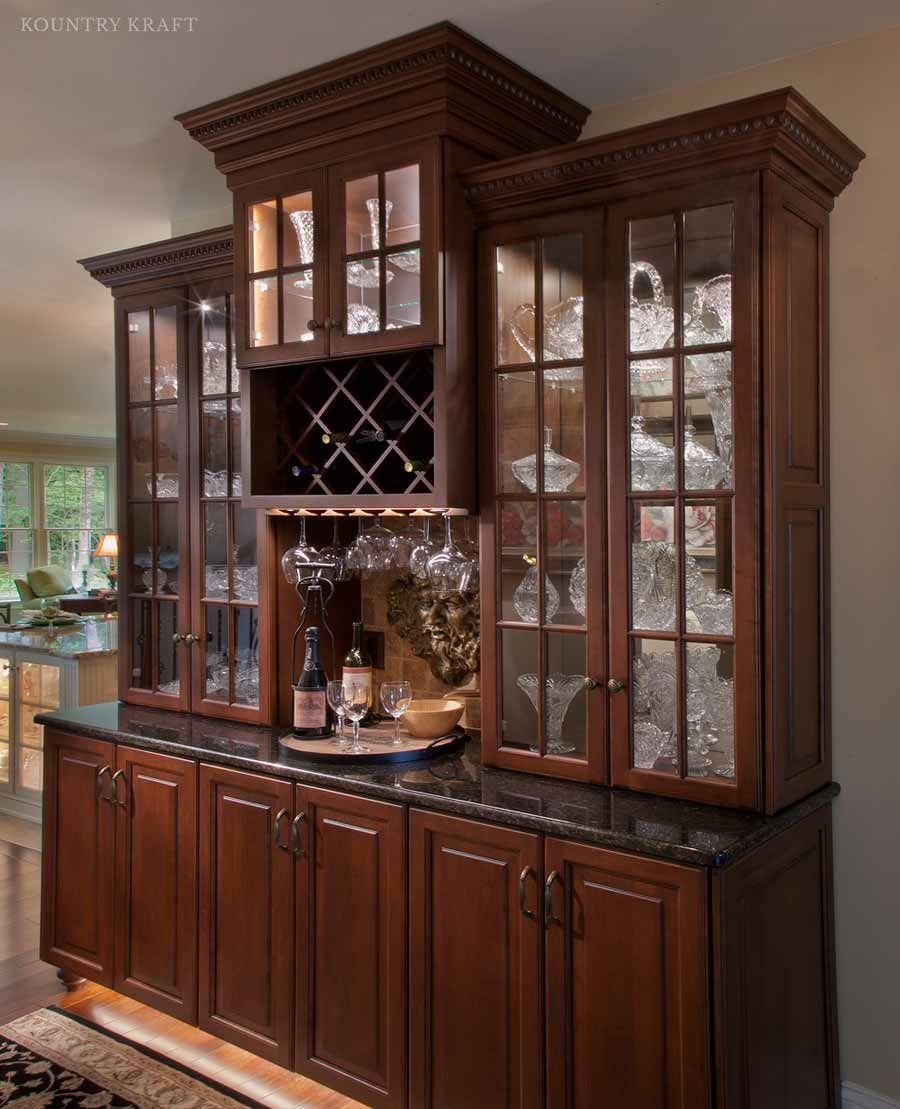 Butler\'s pantry in Enola, Pa https://www.kountrykraft.com/photo ...