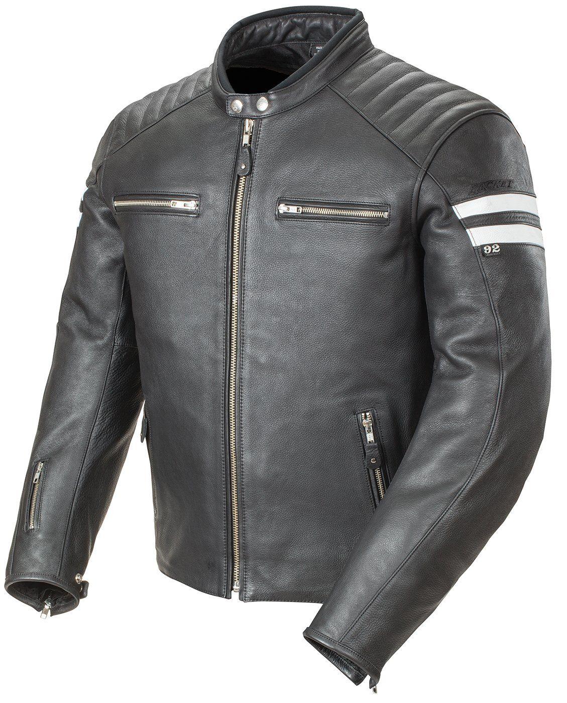 Joe rocket leather motorcycle gloves - Joe Rocket Classic 92 Men S Leather Motorcycle Jacket Black White