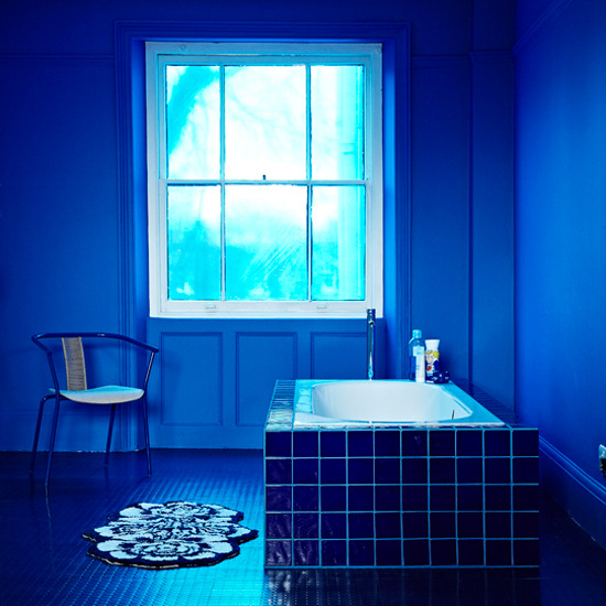 Lovely Modern Bathroom Blue