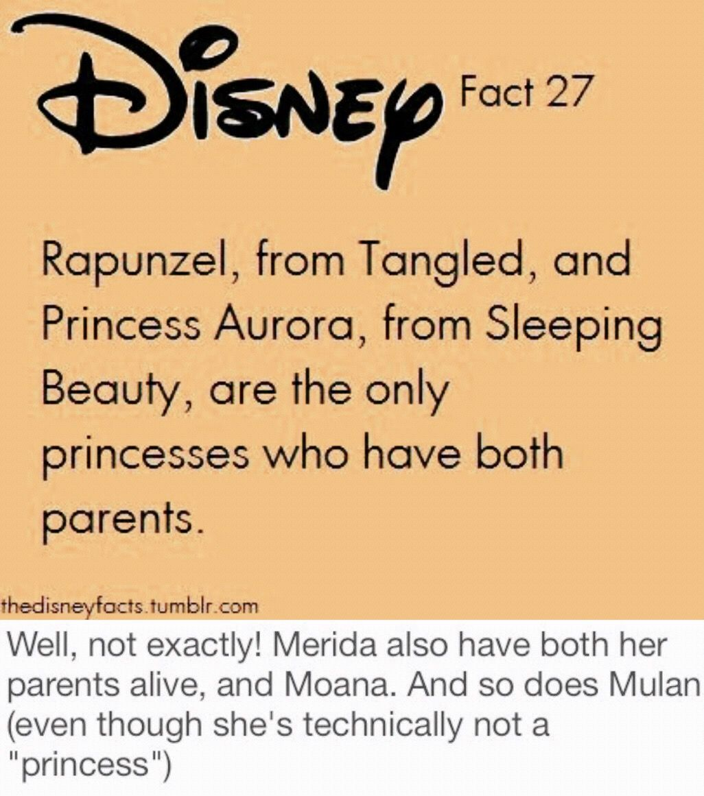 """I saw this """"Disney fact"""" on Pinterest, but since it wasn't 100% correct, I decided to fix it and upload a new one"""