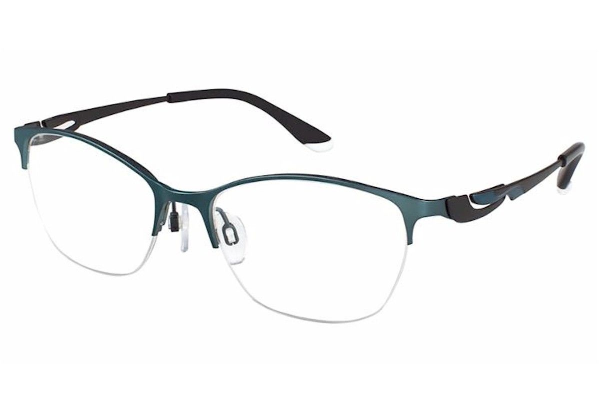 6c9844165a50 Charmant Perfect Comfort Eyeglasses TI 10606 Titanium Half Rim Optical Frame-JoyLot.com  -