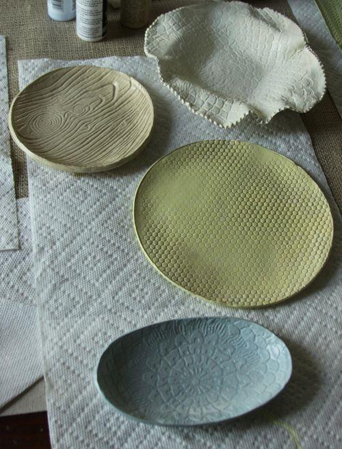 Clay Craft Crafty Ideas Clay Crafts Clay Plates Clay
