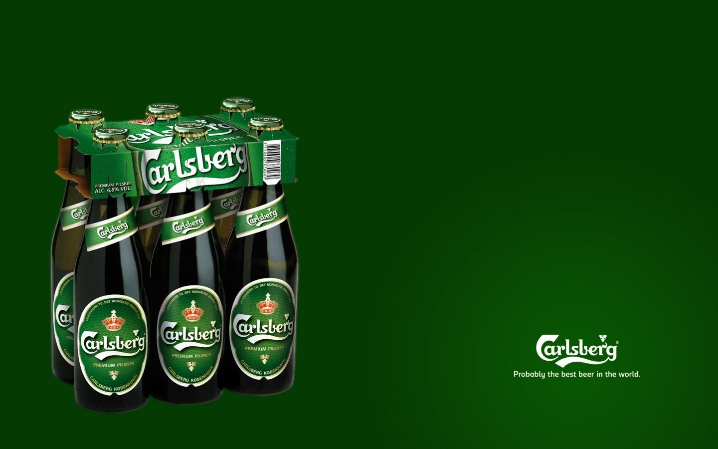 Carlsberg Beer Wide Wallpaper Probably The Best Beer In The World