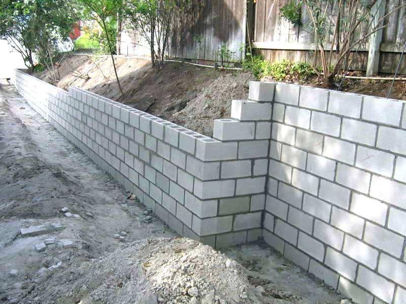 Latest Pic Retaining Walls Construction Concepts Cinder Block Garden Wall Concrete Block Retaining Wall Backyard Retaining Walls