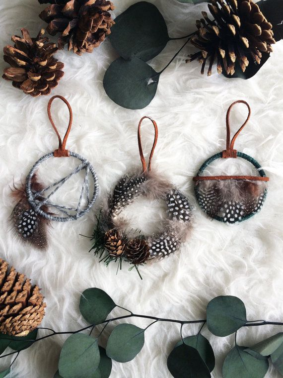 Woodland Christmas Ornament Set