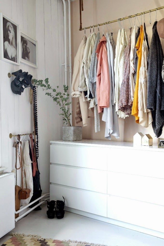 The Cool Home Of A Norwegian Blogger Bedroom Storage Ideas For
