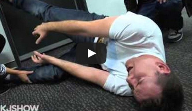 Comedy Stage Hypnosis: Watch This! Man Hypnotized To ...