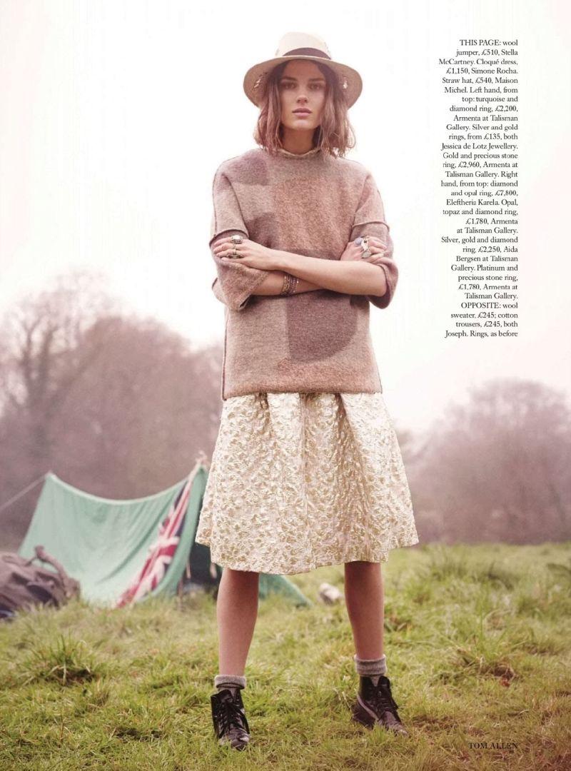 Harpers Bazaar UK Editorial July 2014 - Emma Champtaloup by Tom Allen