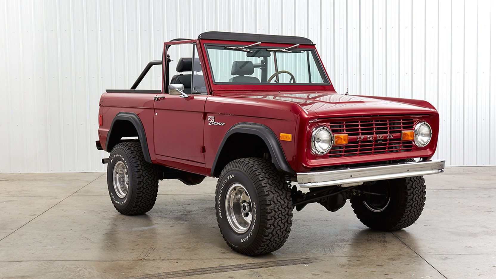 1977 Ford Bronco Presented As Lot F76 1 At Schaumburg Il Ford
