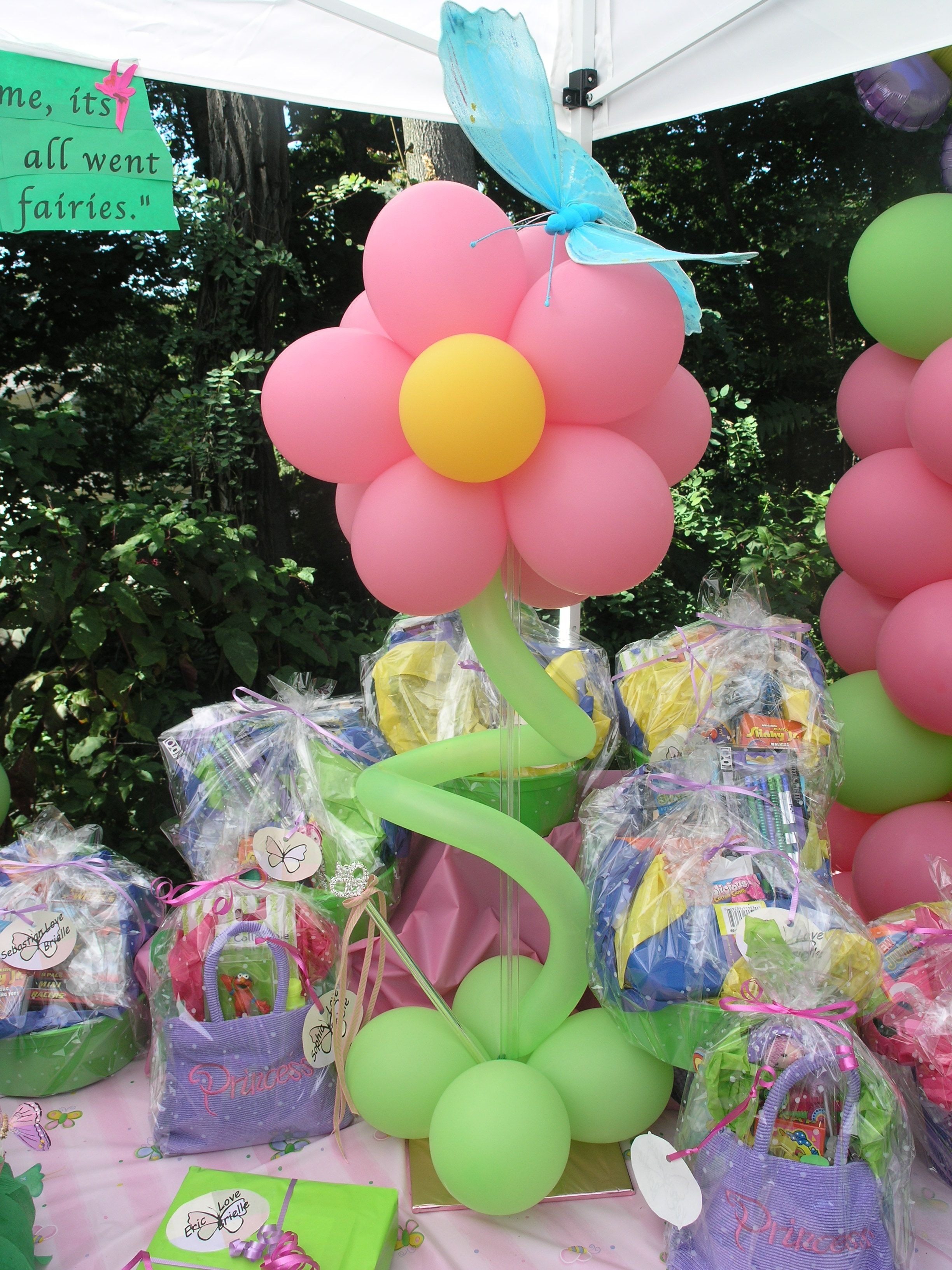Balloon Flowers For Kid Party Decor Rheans Party Ideas