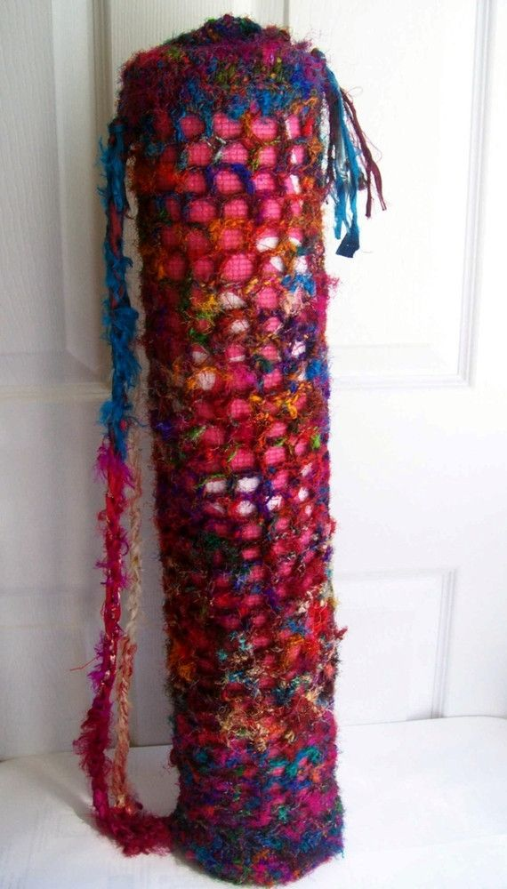 Beginner Yoga Mat Carrying Bag Pattern | Yoga mat bag, Sari silk and ...