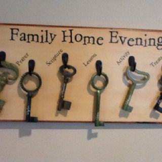 Family home evening chart ideas