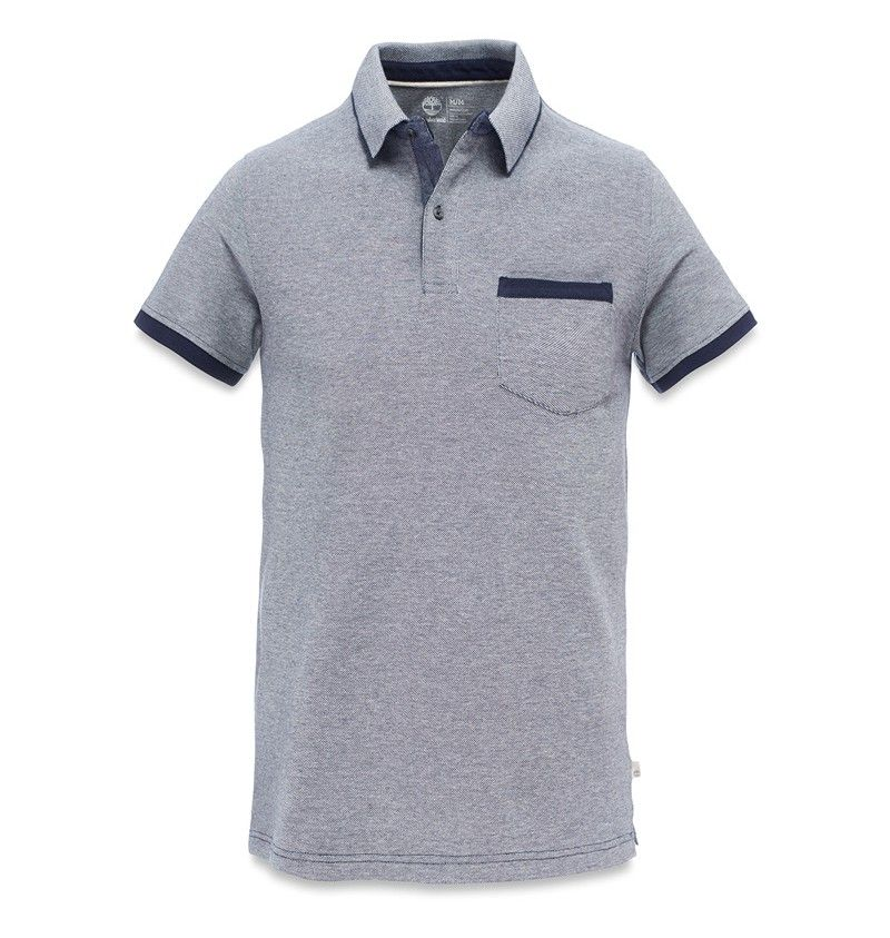 Timberland - Millers River - Men's Tipped Polo