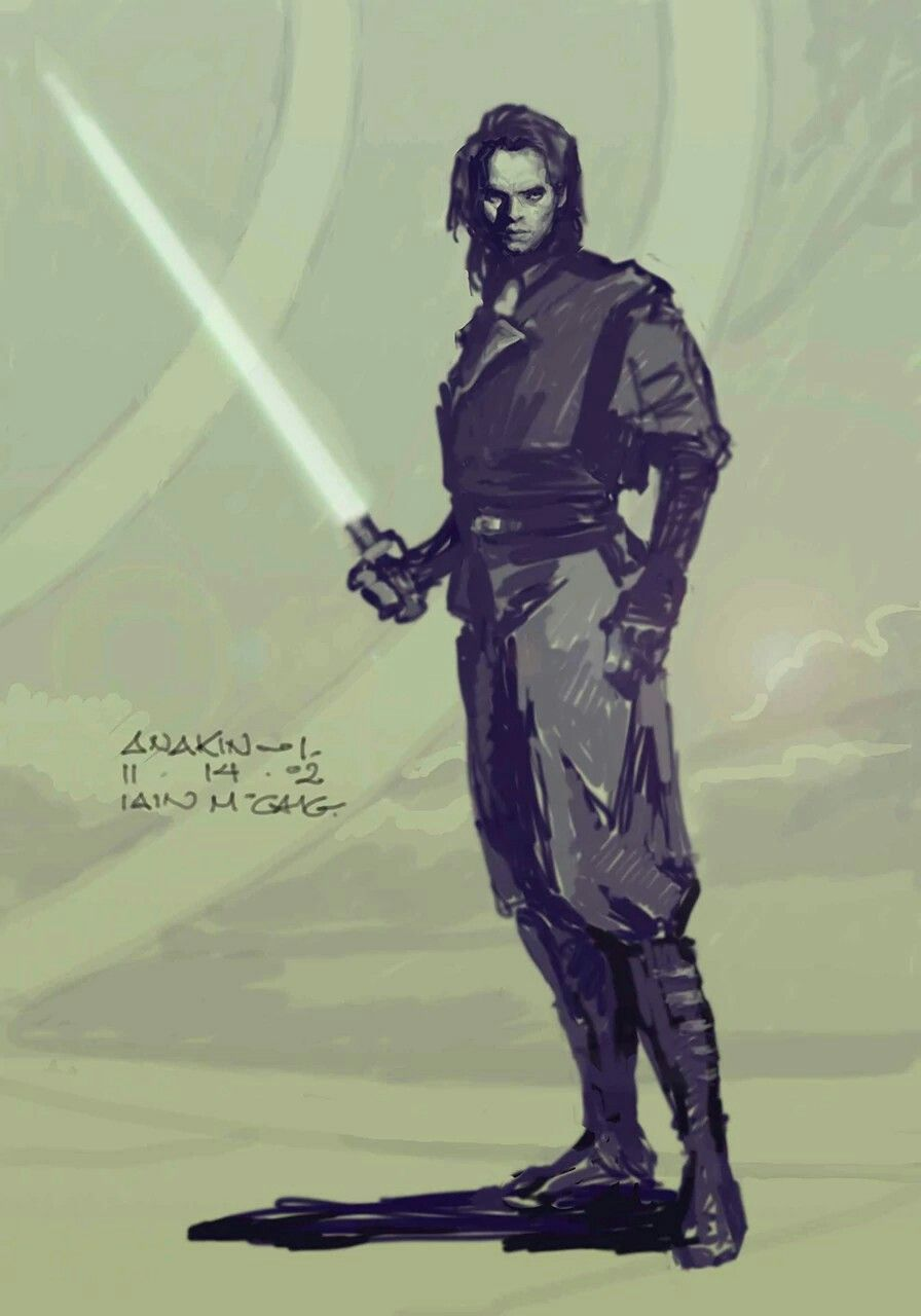 Anakin Skywalker Star Wars Episode Iii Revenge Of The Sith 2005 Star Wars Iain Mccaig Concept Art Star Wars Concept Art Star Wars Star Wars Art