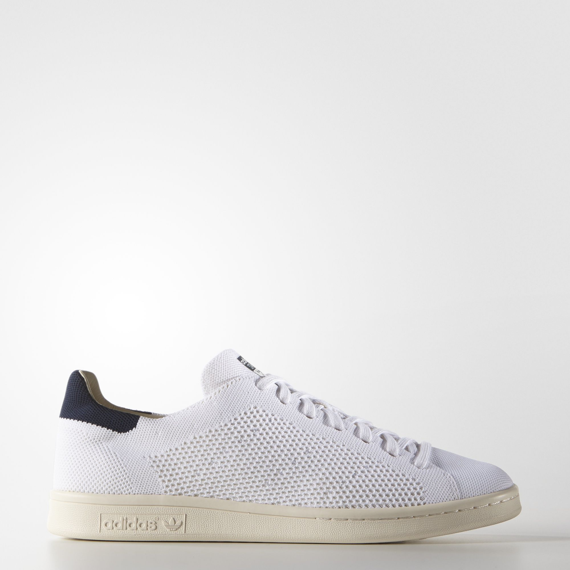 meet 22e38 56f05 A legacy adidas look, the Stan Smith gets a modern update with an adaptive adidas  Primeknit upper. These shoes serve up the same crisp, clean style with a ...
