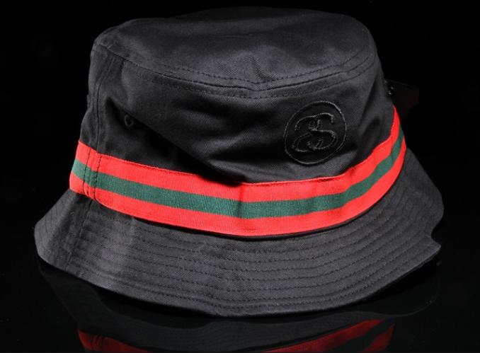 Stussy bucket hat. Looks like Gucci to me tho.  2ec6210d53a8