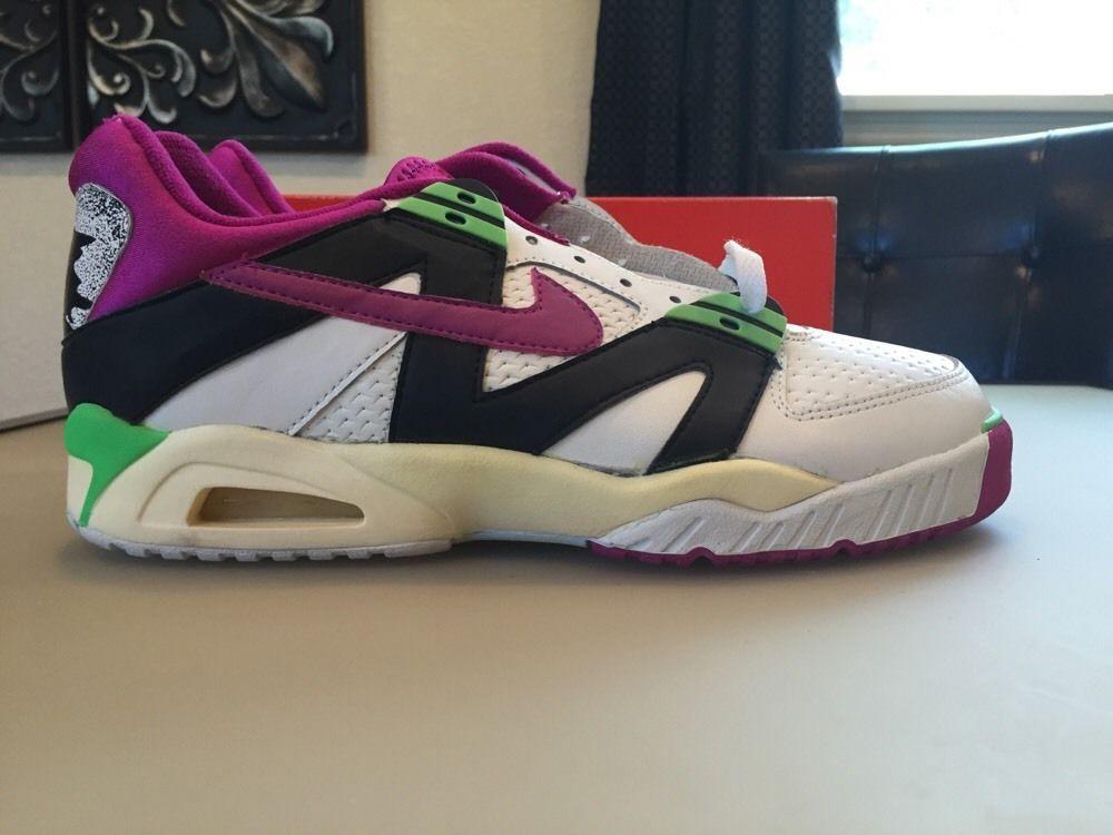 Blancas Nike Air Tech Challenge Iii Bajo Zapatos De