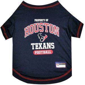 finest selection 27bb0 d9882 NFL Houston Texans Dog Shirt   Dog NFL Sports Clothing ...