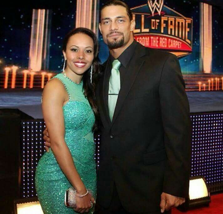 Reigns with his wife   Roman reigns family, Roman reigns wife, Roman reigns