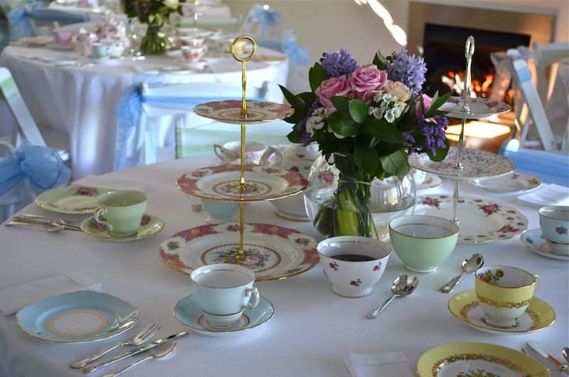 A lovely Afternoon Tea / High Tea Party setting. & Afternoon tea parties afternoon tea party perth | Antiquitea ...