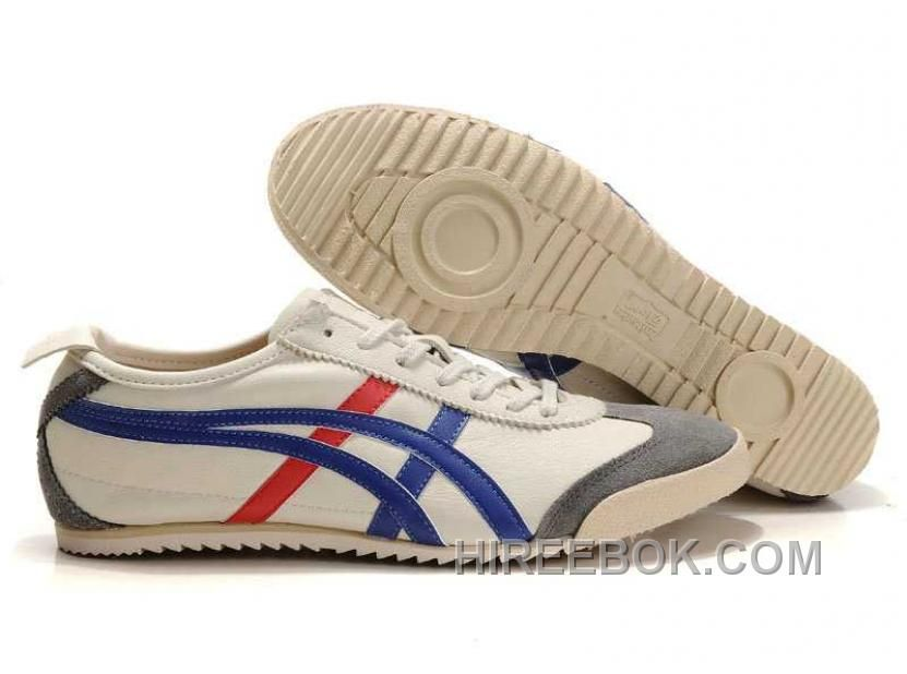 Buy Onitsuka Tiger Mexico 66 Mens Deluxe Beige Blue Red Super Deals from  Reliable Onitsuka Tiger Mexico 66 Mens Deluxe Beige Blue Red Super Deals  suppliers.