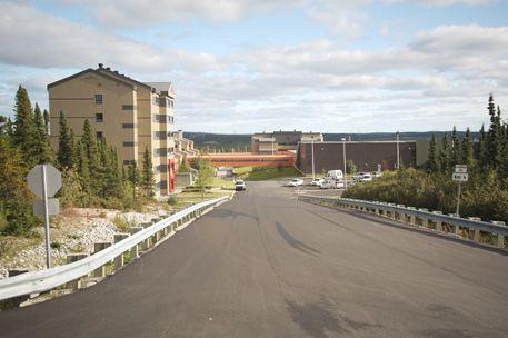 ... résidentiels d'Hydro-Québec dans la localité de Radisson, Québec