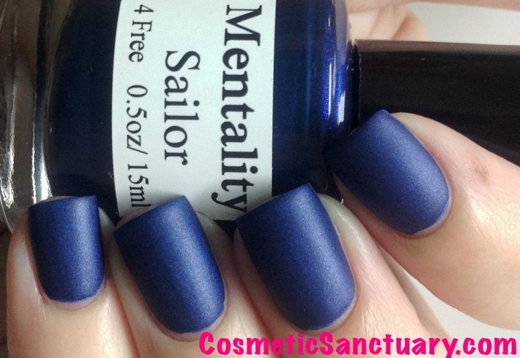 Mentality Nail Polish The Matte Collection Swatches and