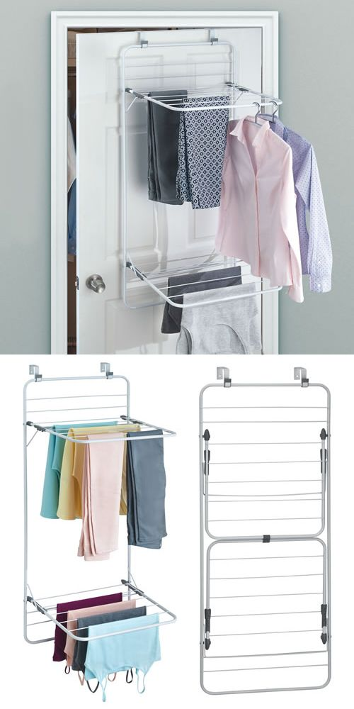 Over Door Clothes Drying Rack