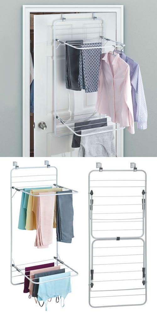 Over Door Clothes Drying Rack Laundry Room Design Drying Rack
