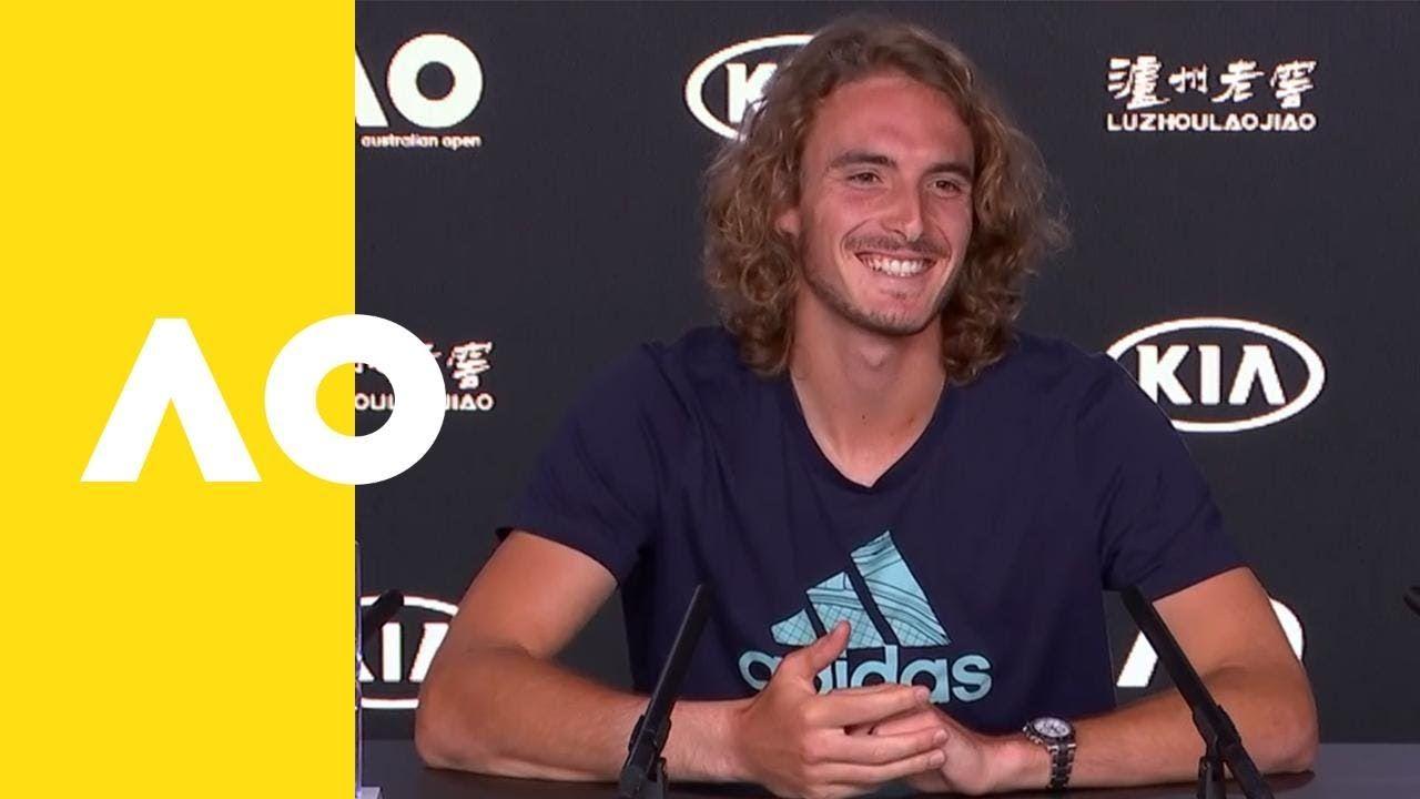 Stefanos Tsitsipas Press Conference 4r Australian Open 2019 Australian Open Conference Pressing