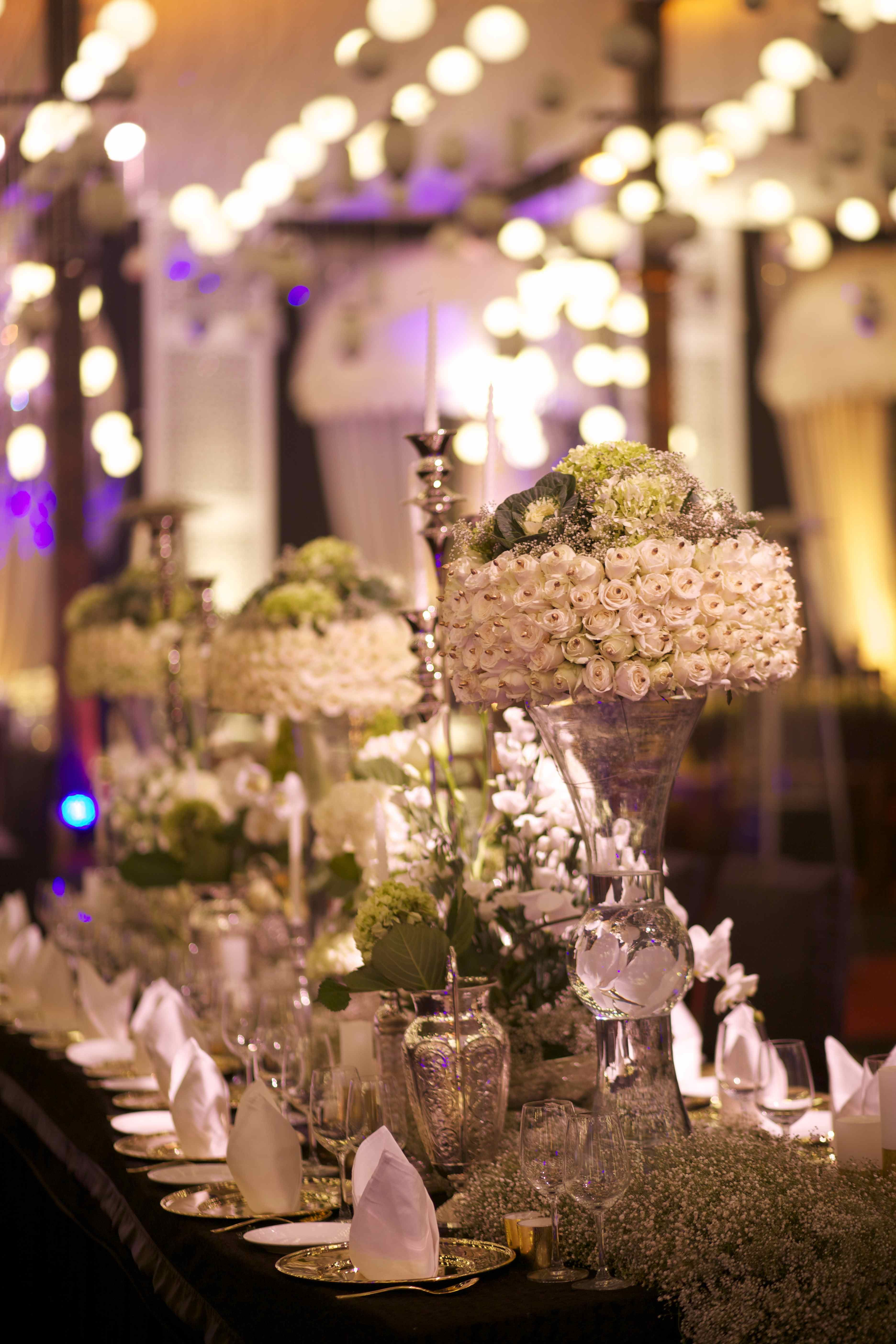 Wedding decor inspiration by Q Events