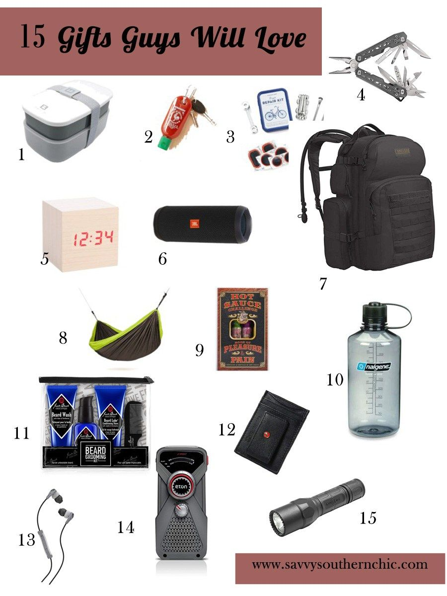 15 Gifts Guys Will Love For Christmas Mens Gifts 15 Gifts