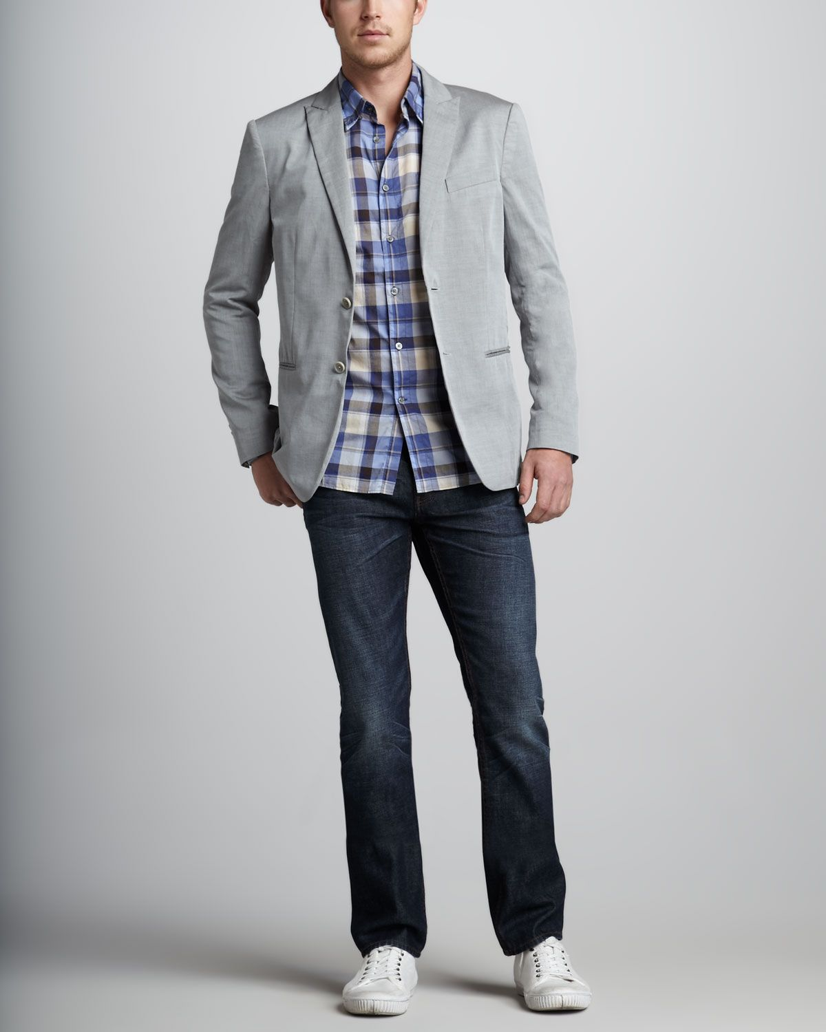 dark grey button down shirt - Google Search | Style | Pinterest ...