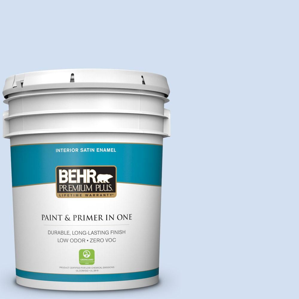 Behr Premium Plus 5 Gal P530 1 Loyal Flat Exterior Paint And Primer In One 405005 The Home Depot Interior Paint Behr Marquee Exterior Paint