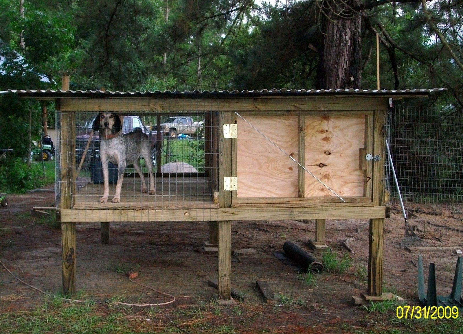 Cheap Easy To Build Off The Ground Kennels Google Search Dog